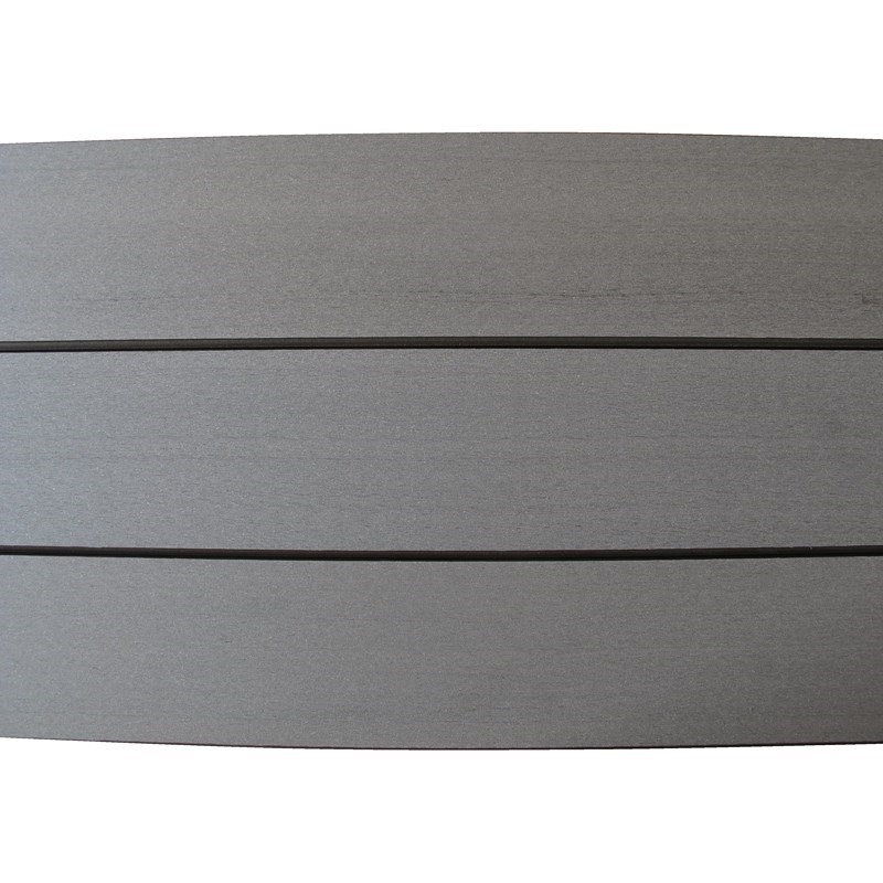 Plancher composite b fix gris 25 x 140 mm for Plancher composite exterieur