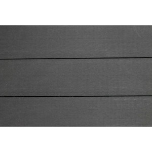 Plancher composite b fix anthracite 25 x 140 mm for Plancher exterieur composite
