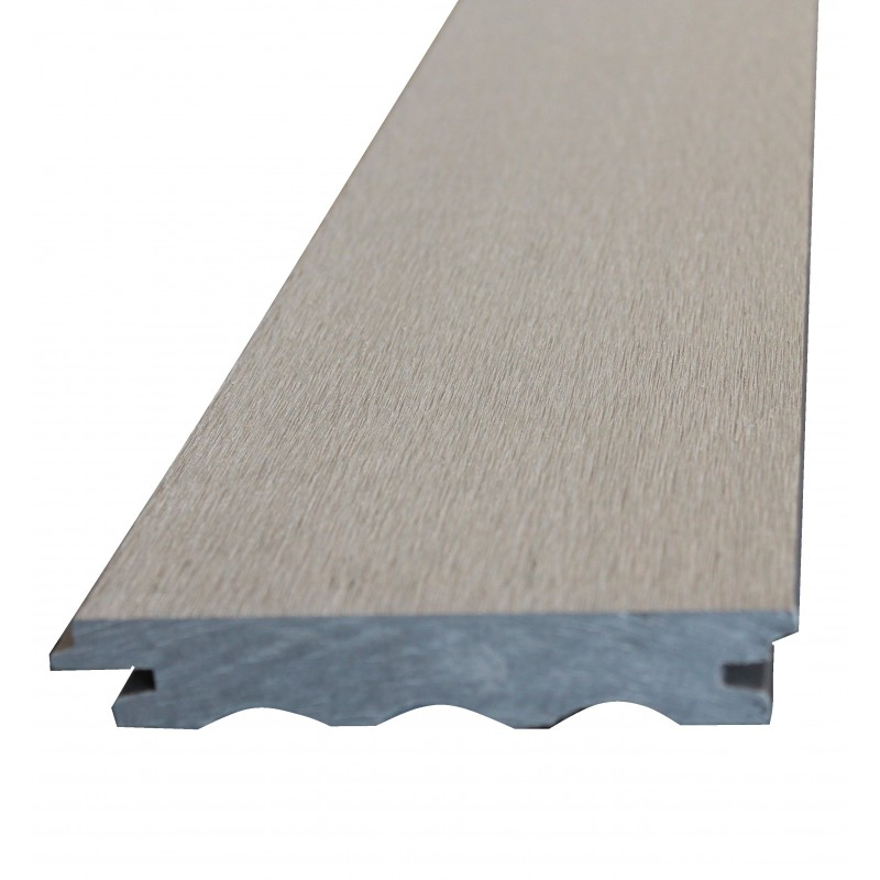 Plancher composite b fix sand 25 x 140 mm for Plancher composite exterieur