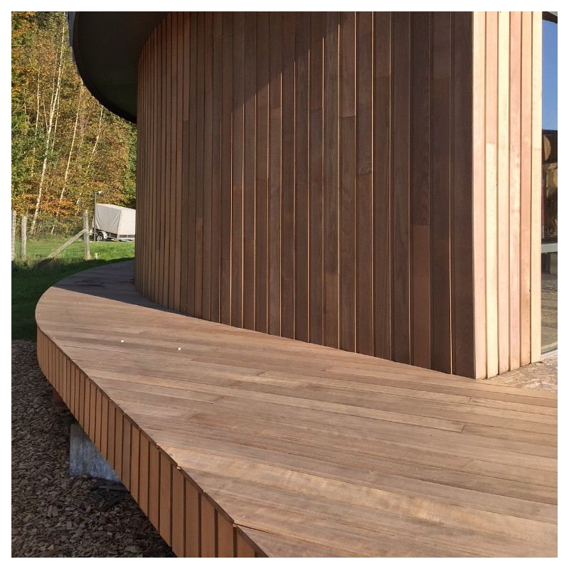 plancher de terrasse en bois torr fi fixation invisible. Black Bedroom Furniture Sets. Home Design Ideas