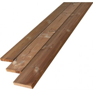Terrasse Pin Thermowood 26x140 Mm